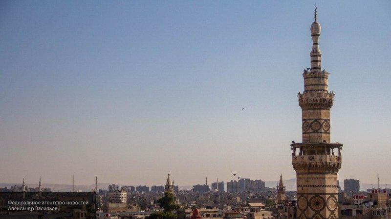 Взрывы прогремели над Дамаском