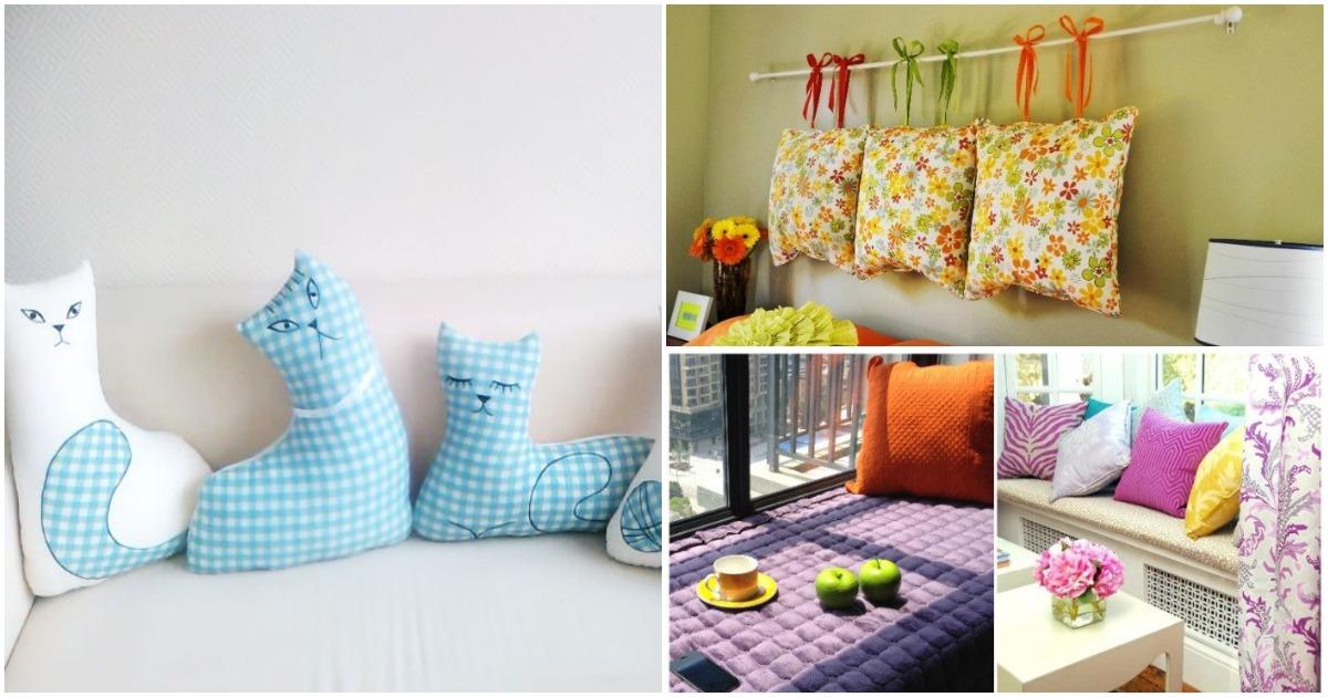Не хватает уюта в доме: оформите свой интерьер с помощью подушек
