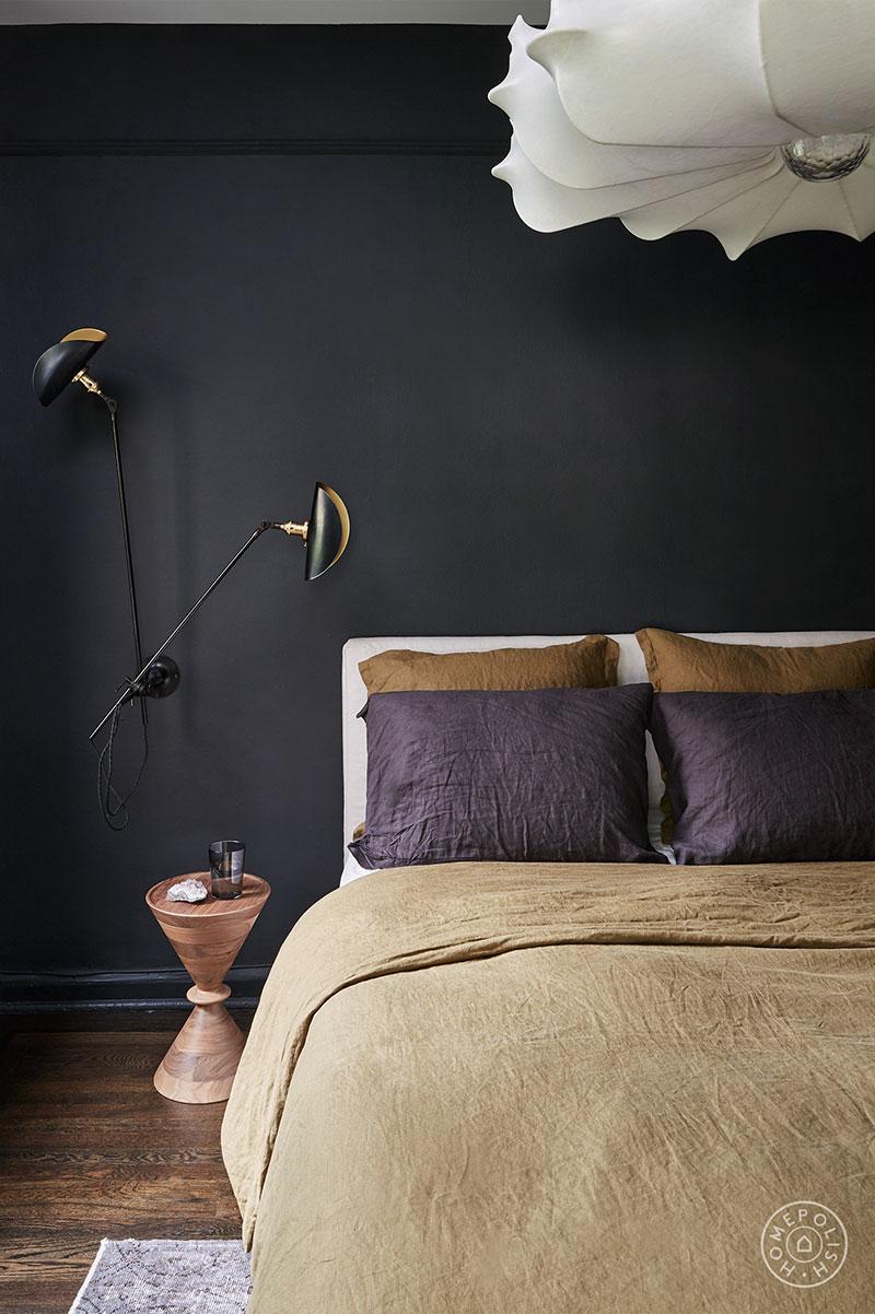 Современная квартира со стильными контрастными интерьерами на Манхеттене интерьер и дизайн