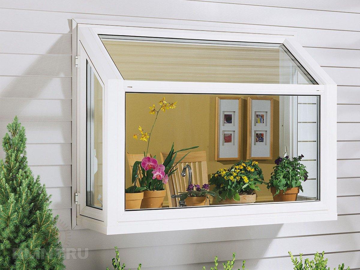 «Садовые» окна: особенности и преимущества интерьер и дизайн,ремонт и строительство