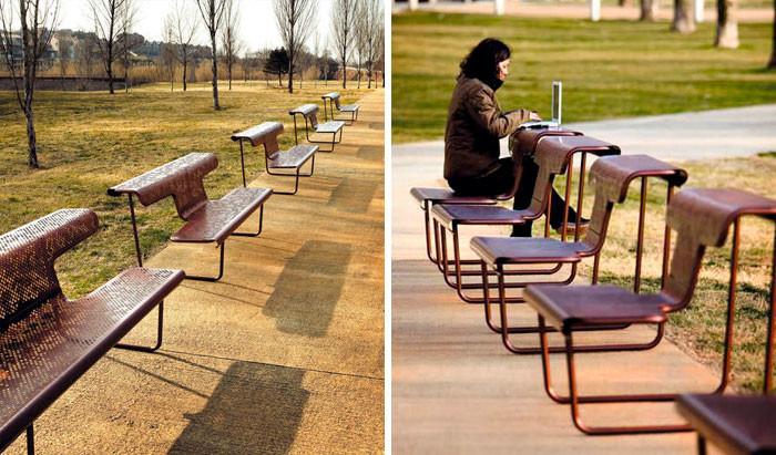 фото 45 самых оригинальных скамеек в мире