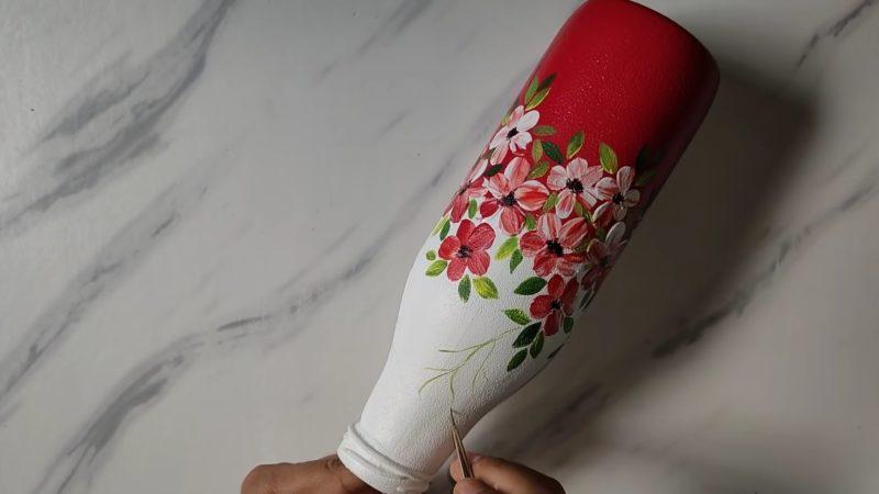 Потрясающе простая техника рисования, которая поможет создать красивый декор декор,мастер-класс,роспись