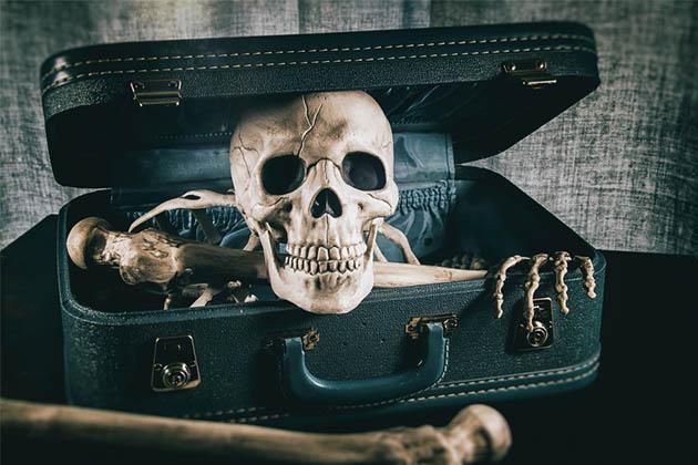 Ваэропорту Мюнхена вбагаже пассажирки нашли скелет еепокойного мужа