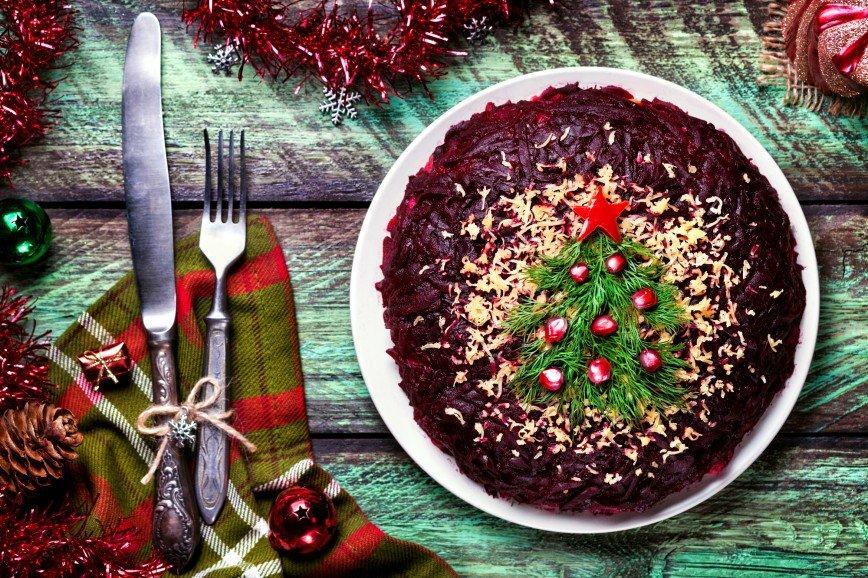 Топ-5 салатов на Рождество