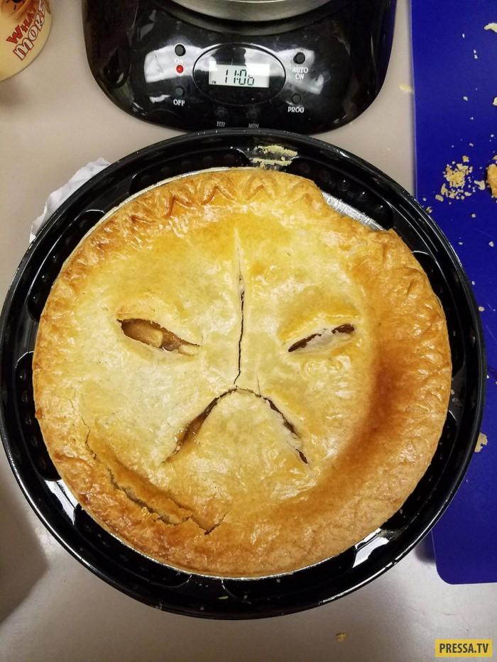 смешные картинки пирога специалисты производят монтаж
