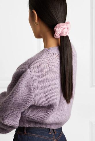 Как носить объемные резинки для волос волосы,красота,мода и красота,прически