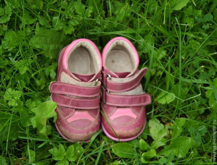 Как виноград превратить в «изюминку»: преображение детской обуви