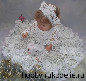 "Новогодний костюм ""Снежная королева"" для доченьки!"