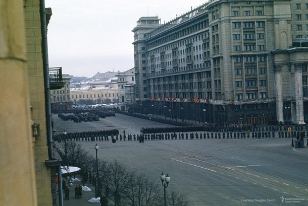 Похороны Сталина: найдены уникальные цветные кадры