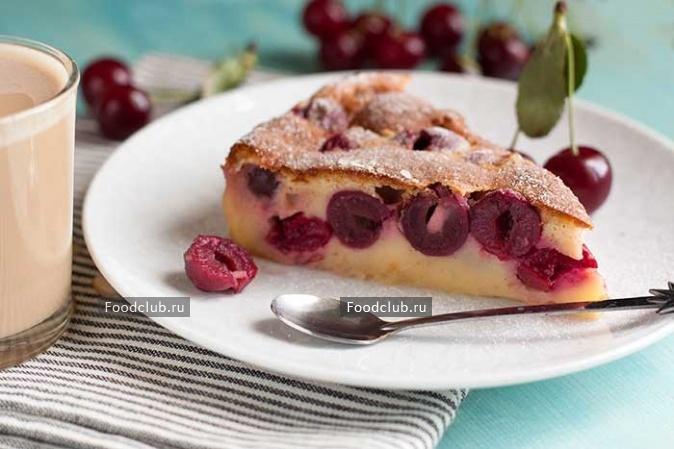 Клафути с вишней. Французская кухня выпечка,десерты,кулинария,французская кухня