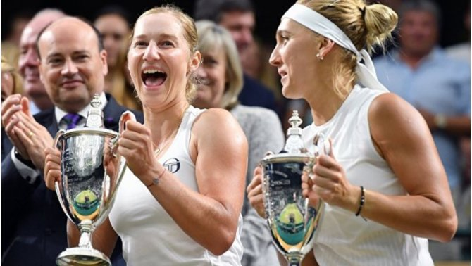 Российские теннисистки Елена…