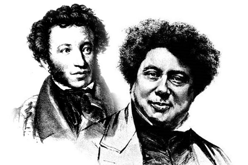 Пушкин инсценировал свою смерть и начал писать под псевдонимом Александра Дюма