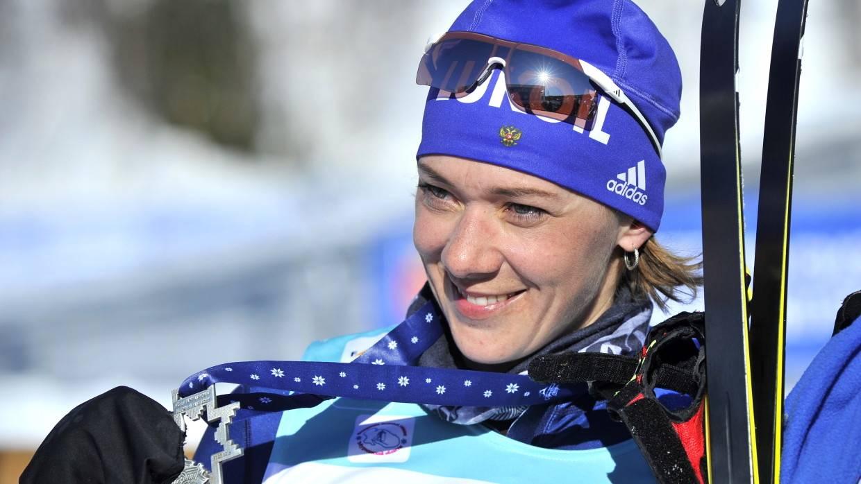 Олимпийский комитет отозвал у российской биатлонистки Зайцевой медаль ОИ в Сочи Спорт