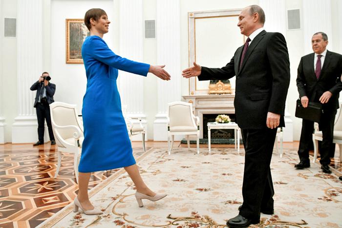Керсти Кальюлайд мечтает об отмене антиэстонских санкций