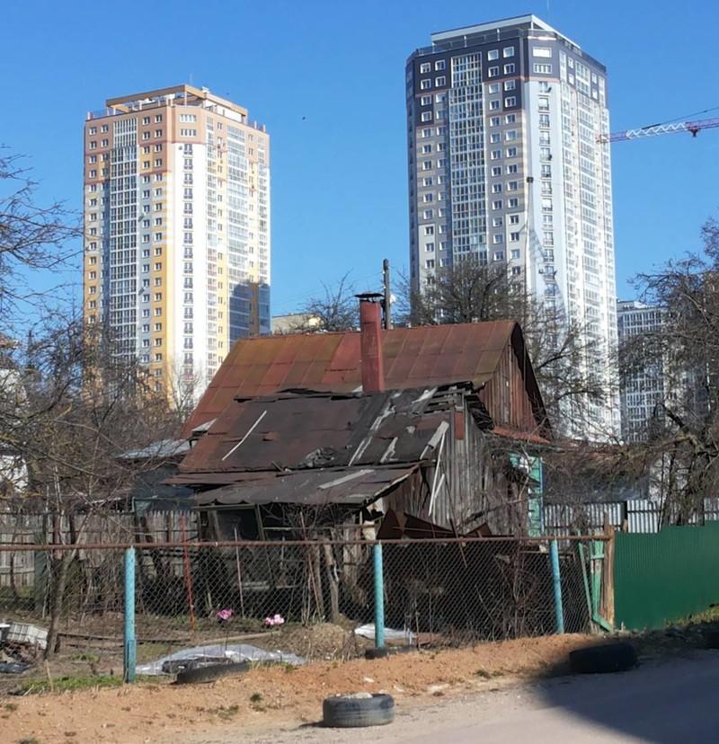Минск - та же картина города, жизнь, контрасты, прикол, россия
