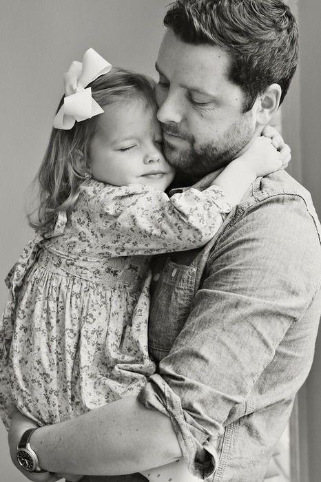 Пронзительно печально о том, как сильно ей хотелось, чтобы у нее был папа...