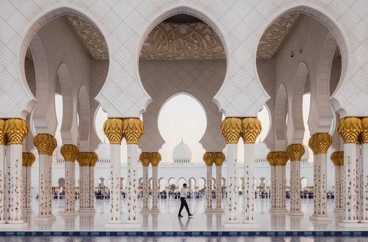 Здесь все ходят в парандже арабские эмираты, в мире, закон, интересно, мифы, порядок, факты