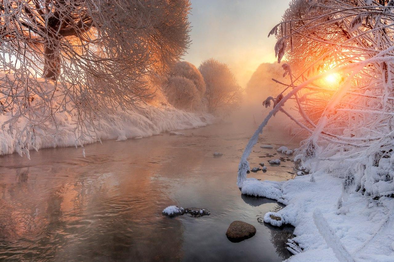 Доброе морозное утро картинка прикольная
