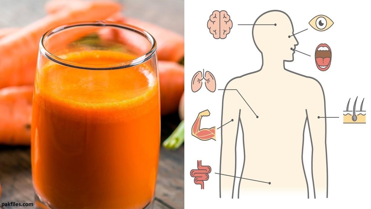 8 вещей, которые произойдут Ñ Ð²Ð°ÑˆÐ¸Ð¼ телом, еÑли пить морковный Ñок по Ñтакану в день