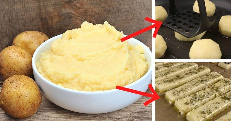 Необычные рецепты из простой пюрешки: 5 быстрых вариантов