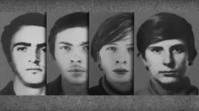 Виктор Романов, Владимир Жалнин, Петр Бондарев и Андрей Никифоров. / Фото: www.youtube.com