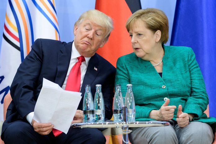 Трамп обсудил с Меркель проб…