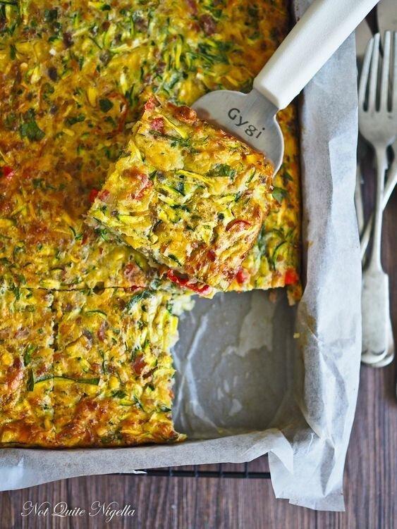 Запеканка и фритата с капустой и множеством иных ингредиентов длиннопост, еда, капуста, картинки, на заметку, приготовь, рецепт
