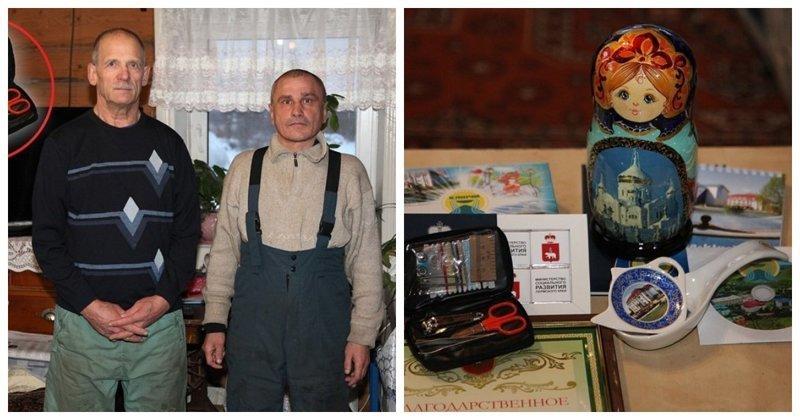 Пермским охотникам за спасение детей в лесу чиновники подарили педикюрные наборы
