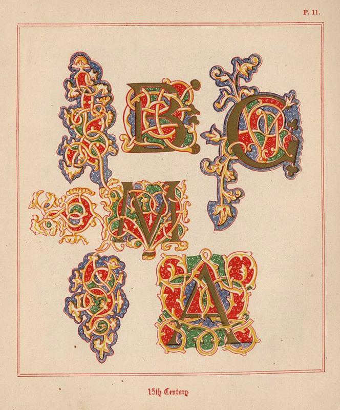 презентация старинная бязь буквицы славянские
