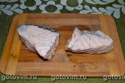 Сырный рулет с творогом и красной рыбы , Шаг 07