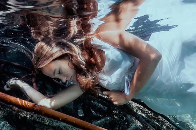 Окенаида: 15 завораживающих подводных фотографий девушки-русалки