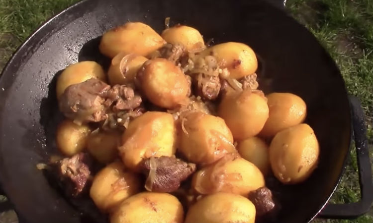Картошка по-сибирски