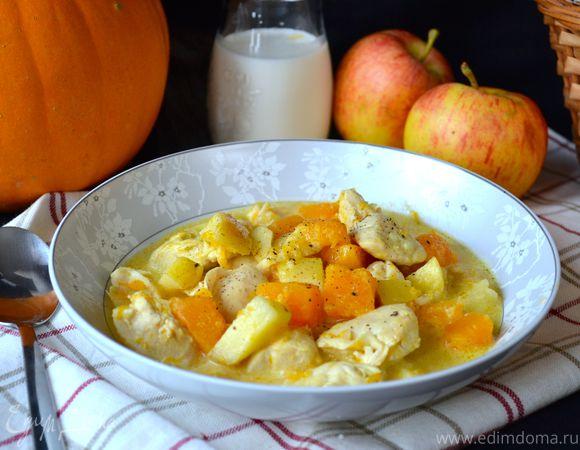 Сытно и витаминно: блюда с яблоками