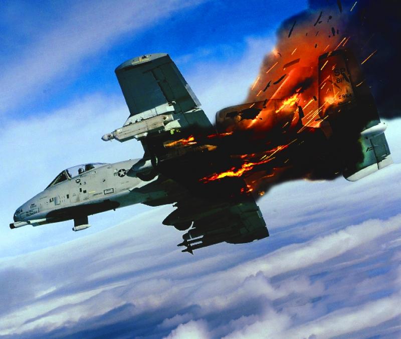 сбитый самолет картинки претит