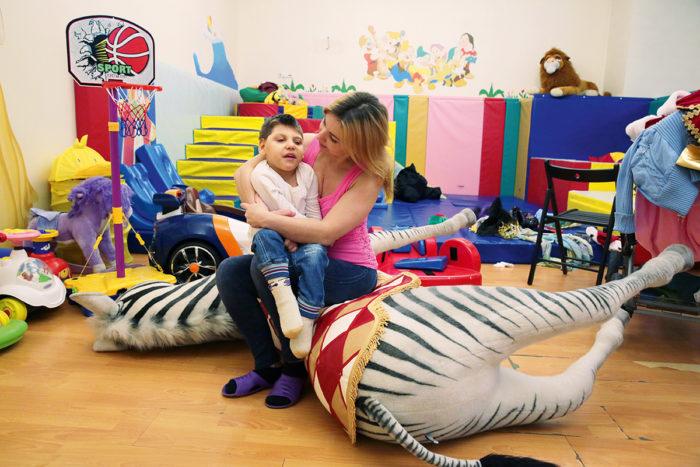 В хосписе родители могут находиться вместе со своими детьми