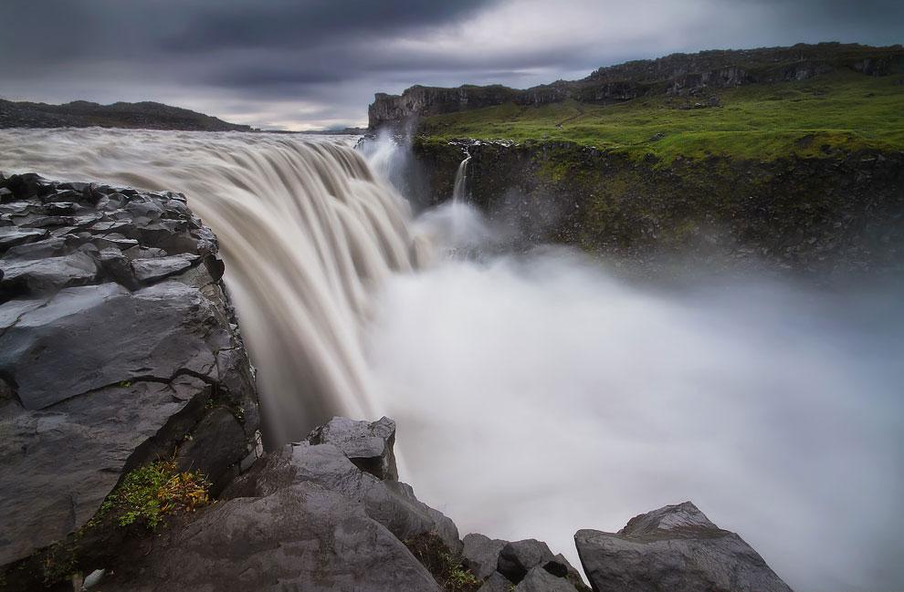 Водопад Деттифосс, Исландия