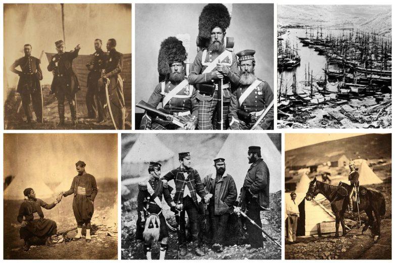 Первая война, запечатлённая на фото: уникальные архивные фотографии середины 19 века