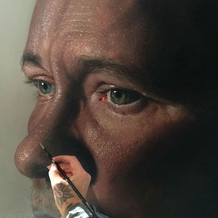 образа ранее гиперреализм фото картин эмульсия наносится стекло