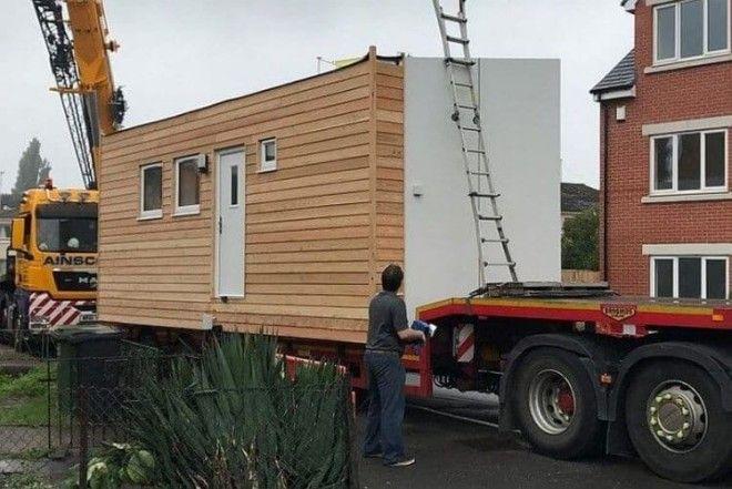 Миниатюрные бюджетные дома в Великобритании Фото