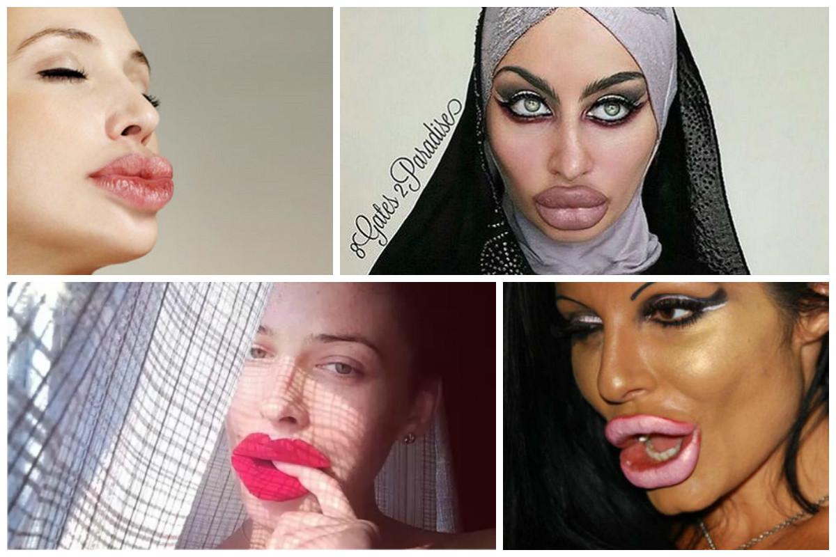 Как накачать половые губы