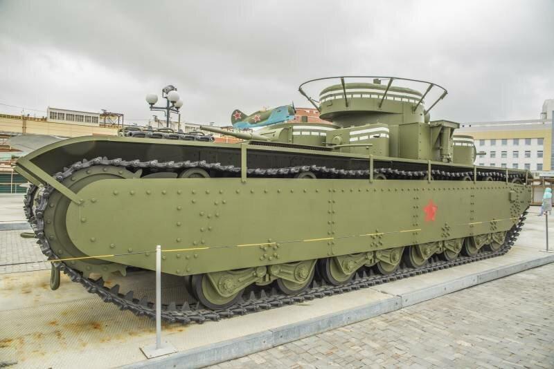ТТХ тяжелого танка Т-35 рассказы об оружии, страницы истории, танк т-35