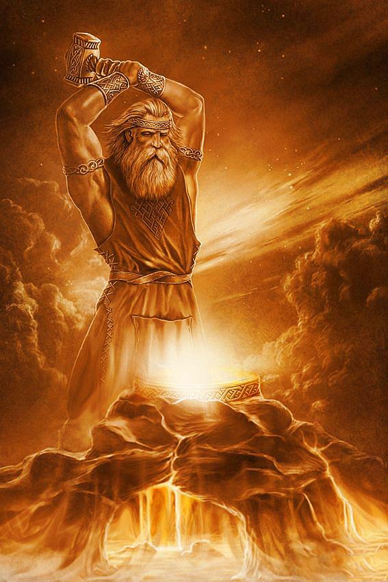 Картинки по запросу norse blacksmith god
