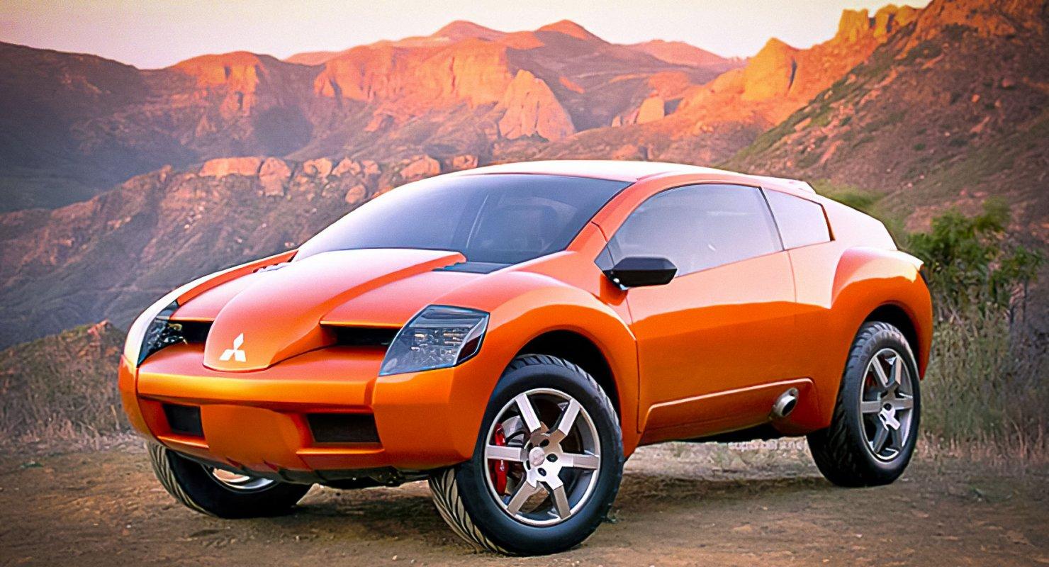 Mitsubishi RPM 7000: Гремучая смесь, а не простой автомобиль Автомобили