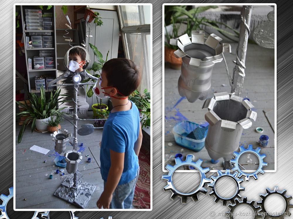 Создаем необычную напольную вешалку, фото № 16