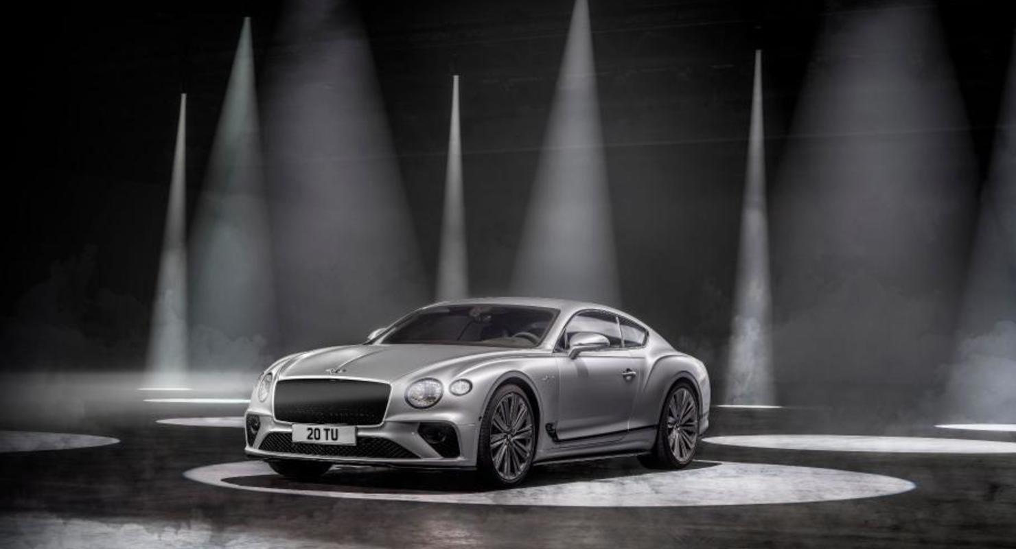 Bentley показал самую динамичную в истории версию Continental GT Speed Автомобили