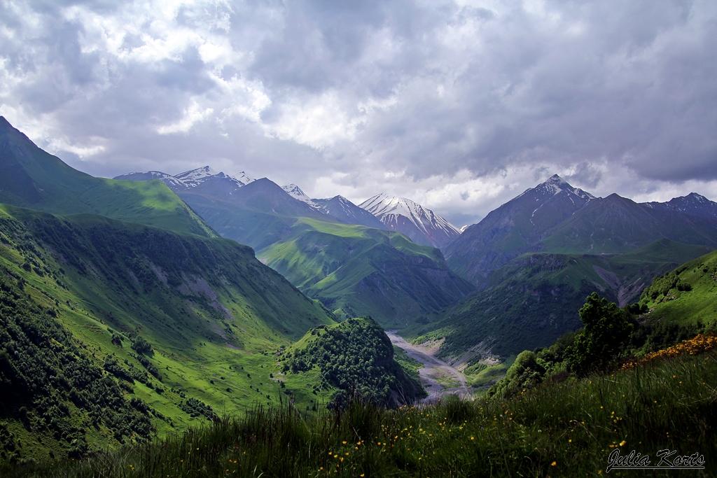 По дороге на Гудаури