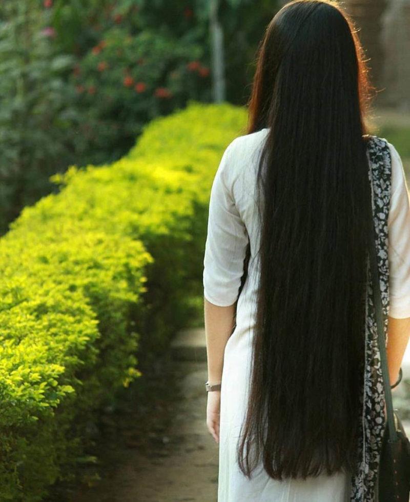 Индийская маска для длинных и крепких волос