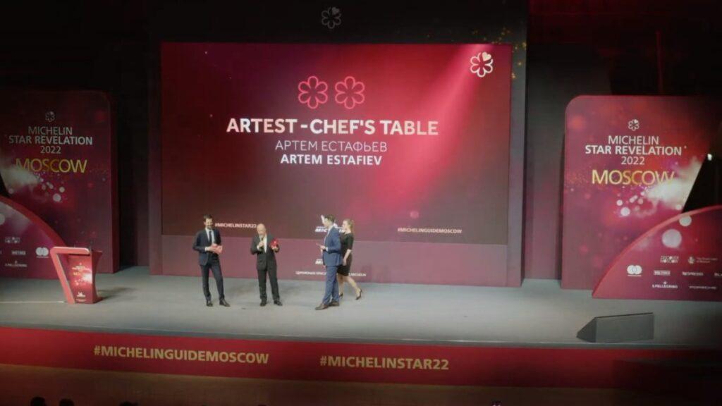 Российские рестораны впервые получили звезды Michelin