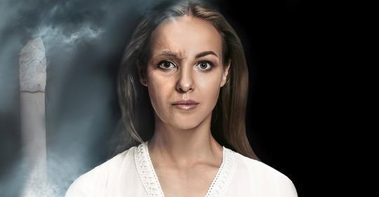 7 способов, которыми курение заставляет вас стареть быстрее