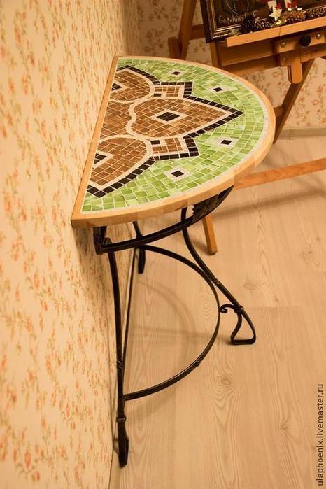 """Идеальный столик для балкона """" Что Я вижу вокруг себя."""